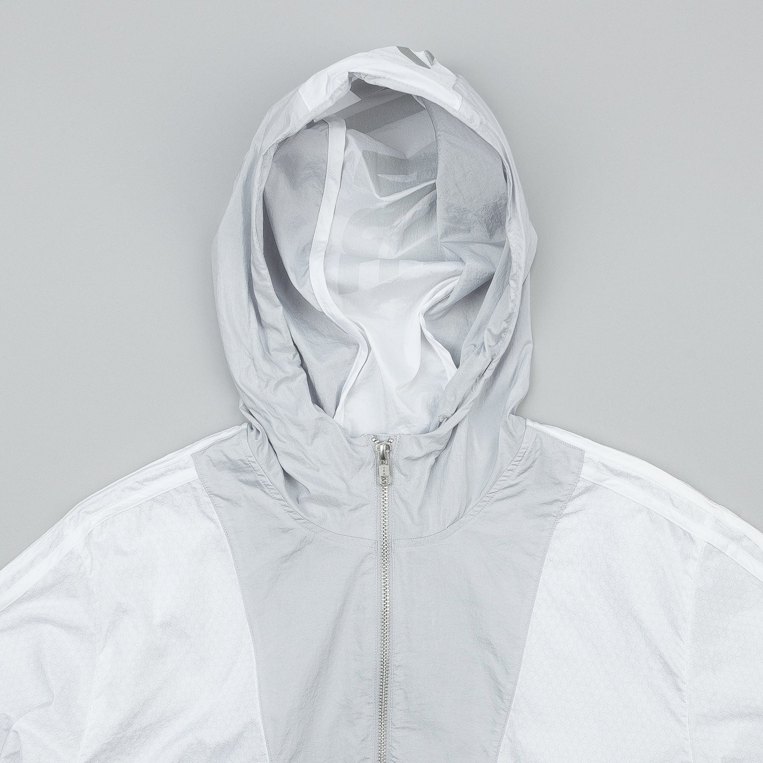 Adidas x Palace Packable Windbreaker Light Solid Grey / White