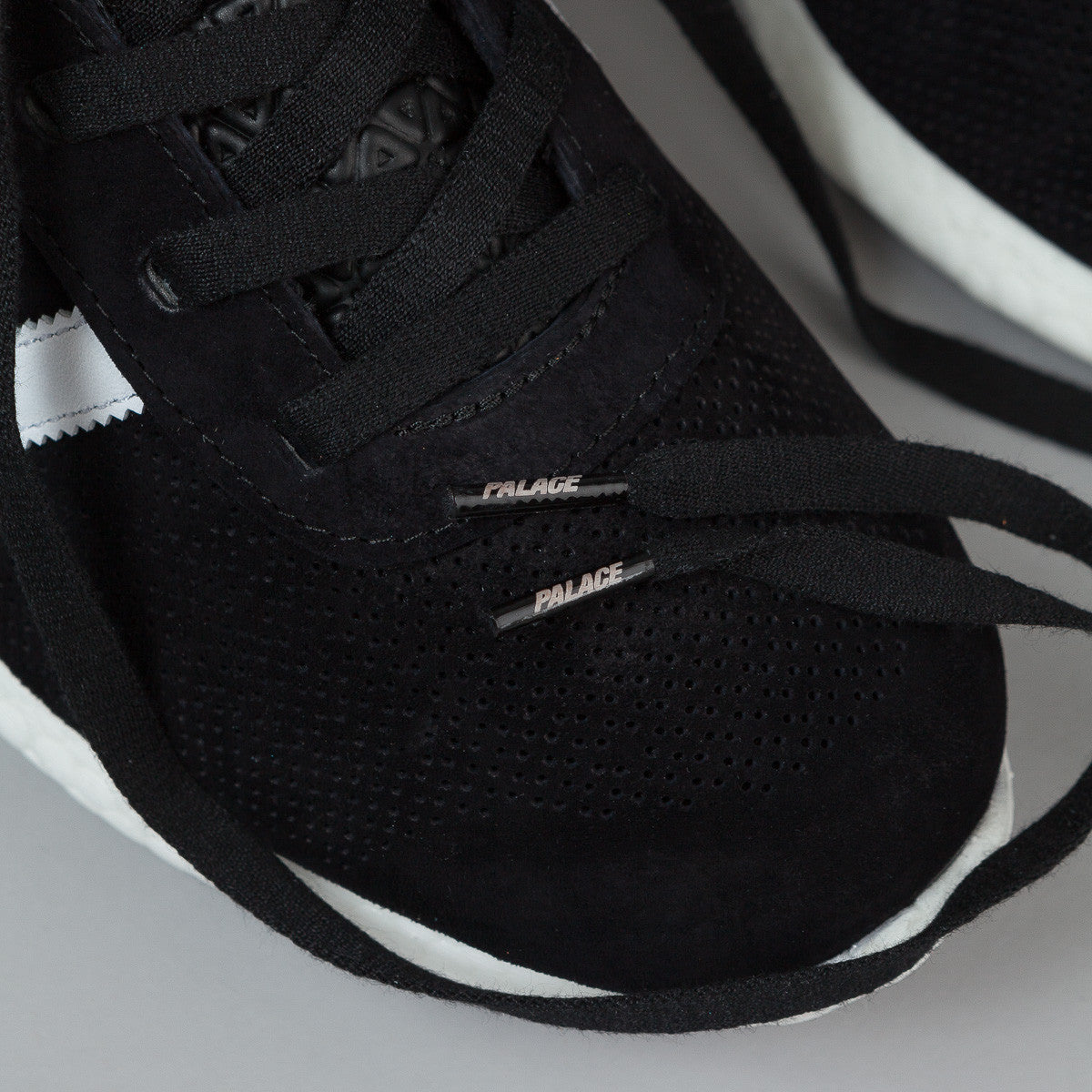 Adidas X Palace Pro Boost Shoes - Black / White / Gold