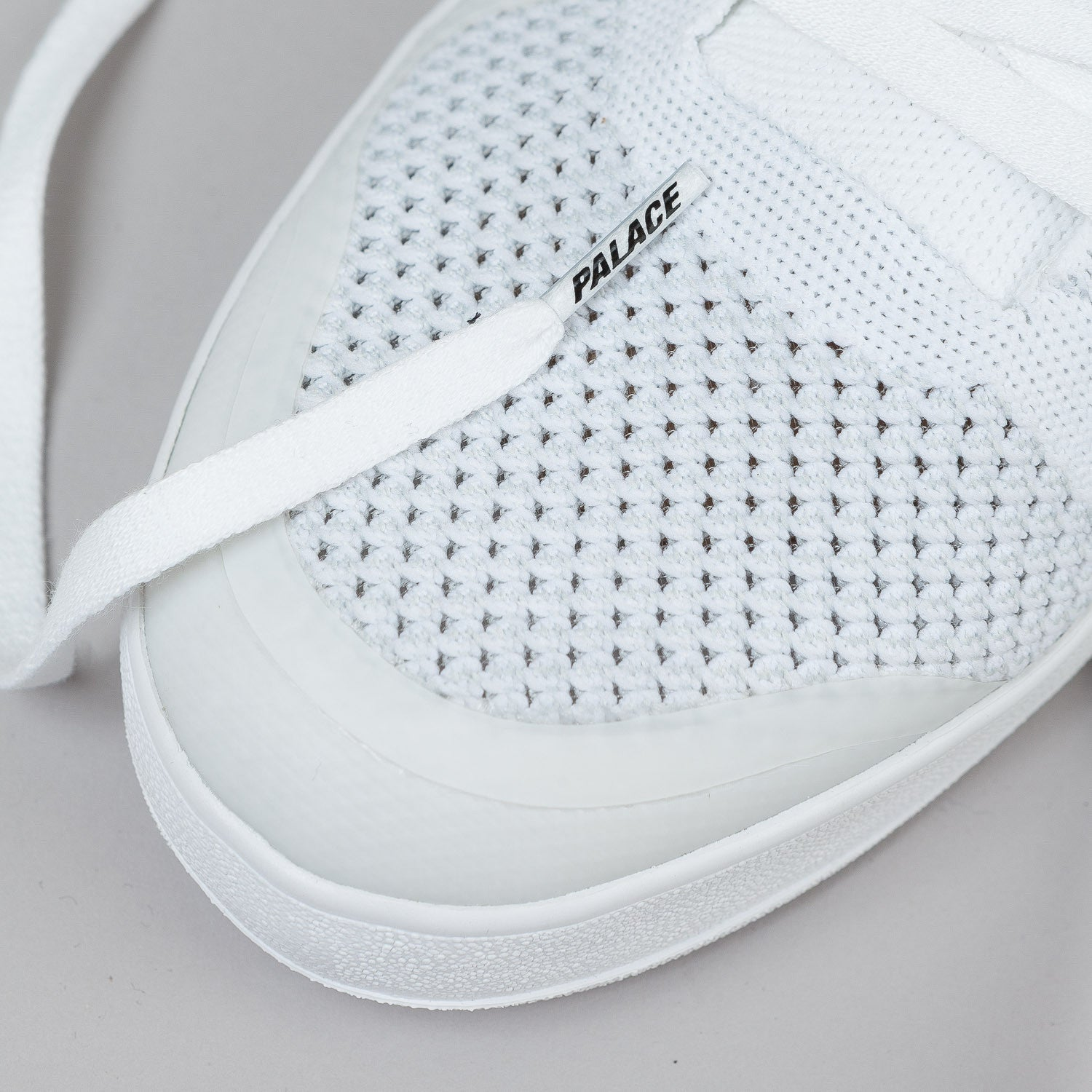 Adidas X Palace Pro Primeknit Shoes - White / Black / White