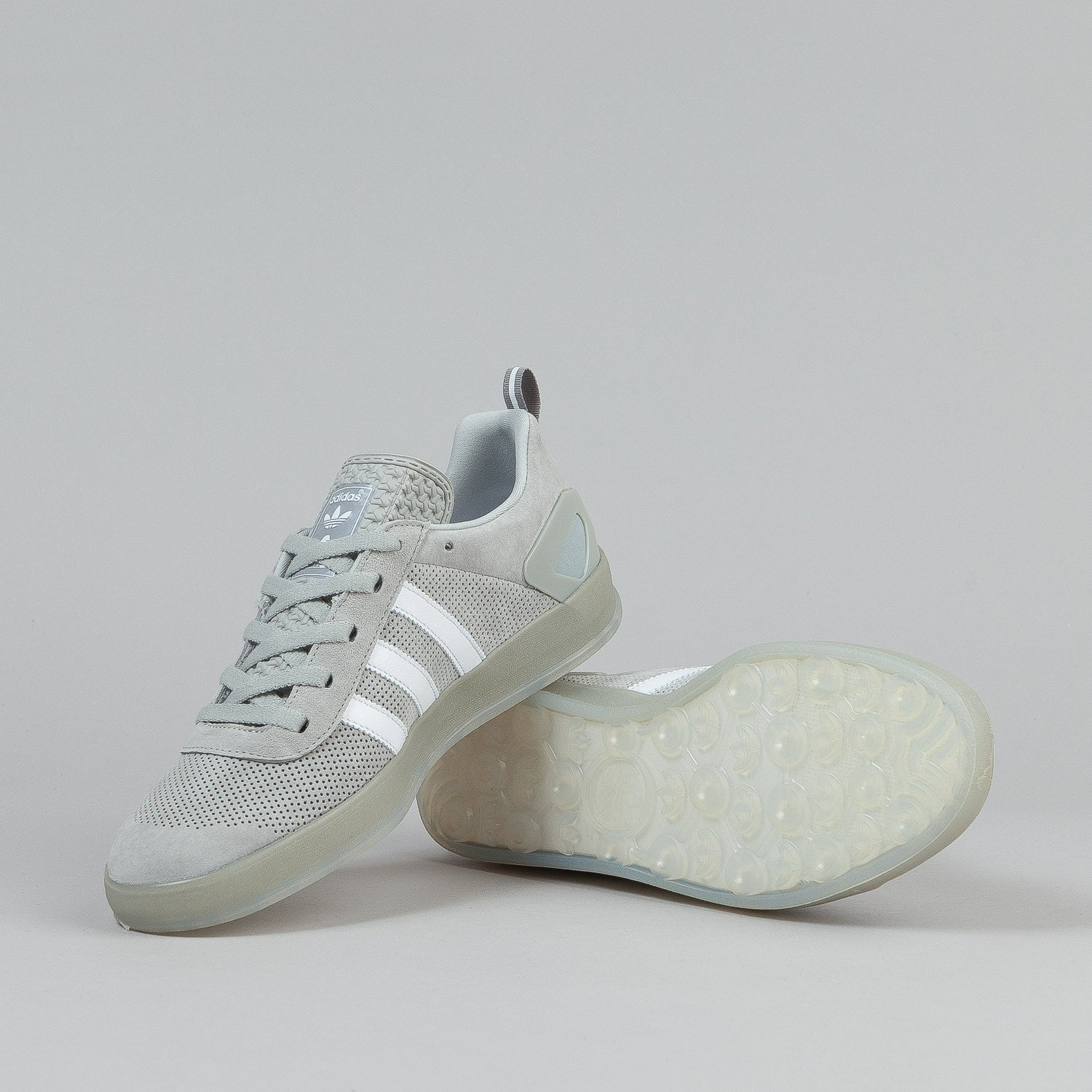 Adidas X Palace Pro Shoes - Stone / White / Black