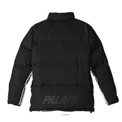 Adidas x Palace Reversible Down Jacket - Multicolor / Black
