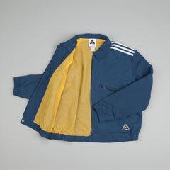 Adidas X Palace Shell Overshirt Jacket Rich Blue
