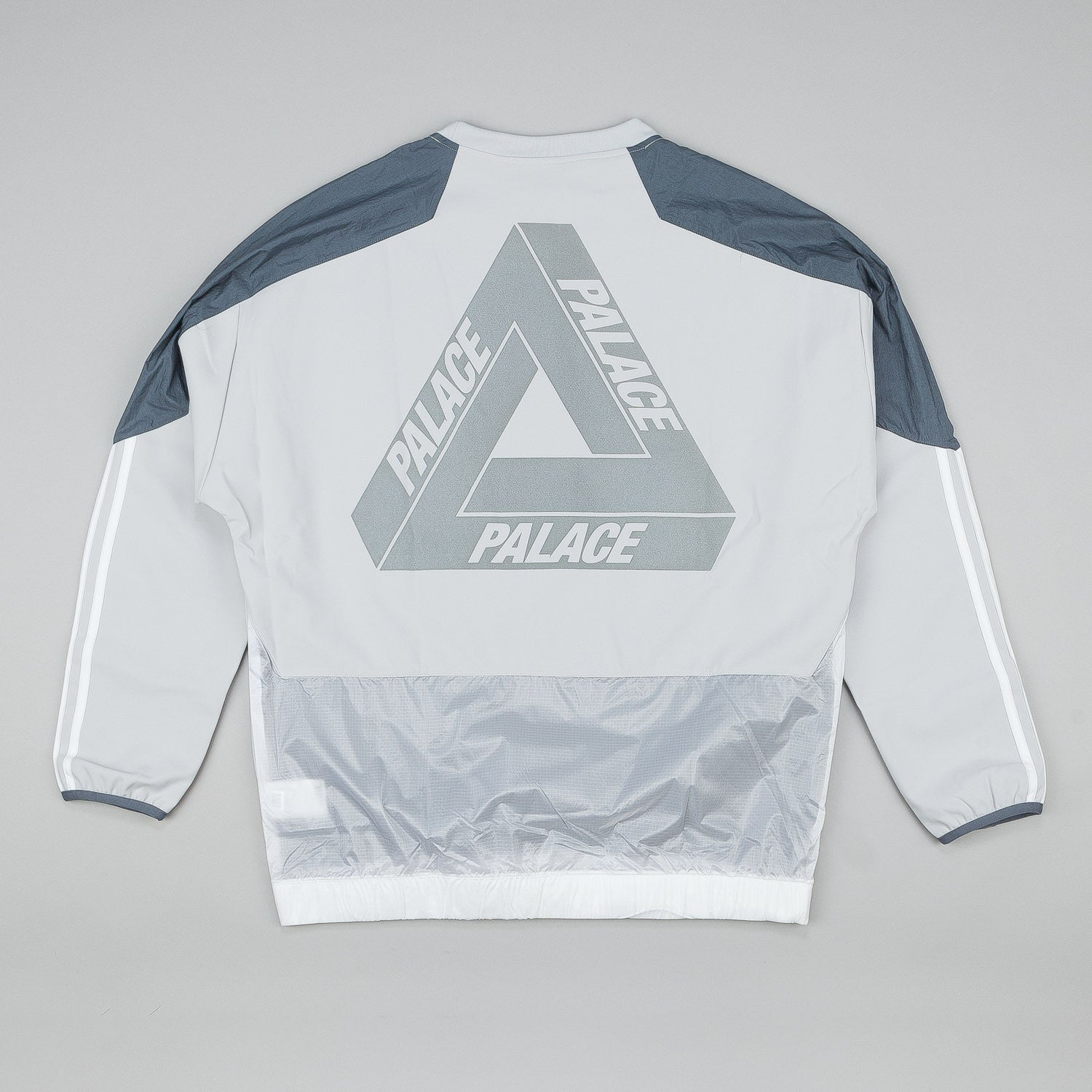 Adidas x Palace Training Top Light Solid Grey