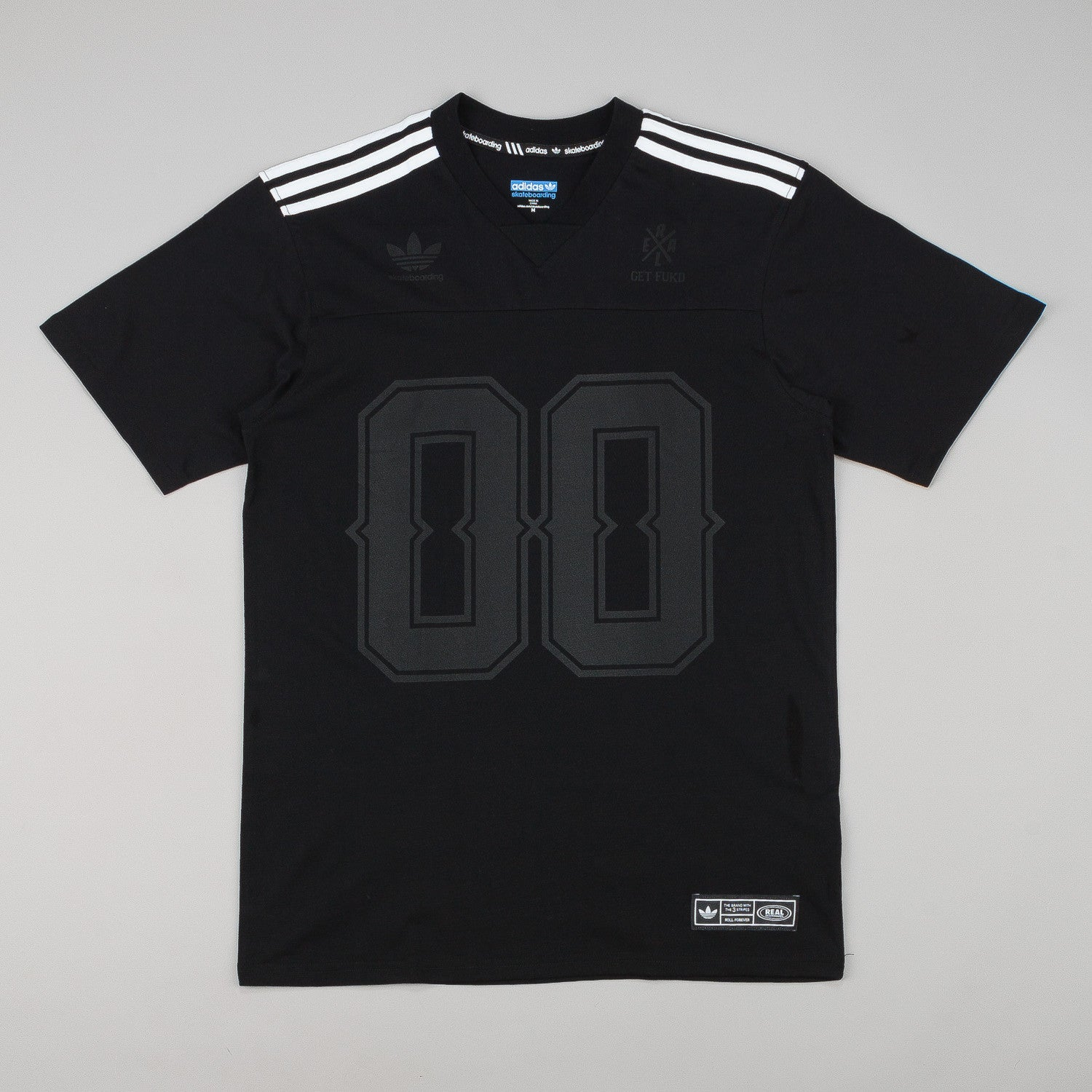 Adidas X Real Jake Short Sleeve V-Neck Jersey