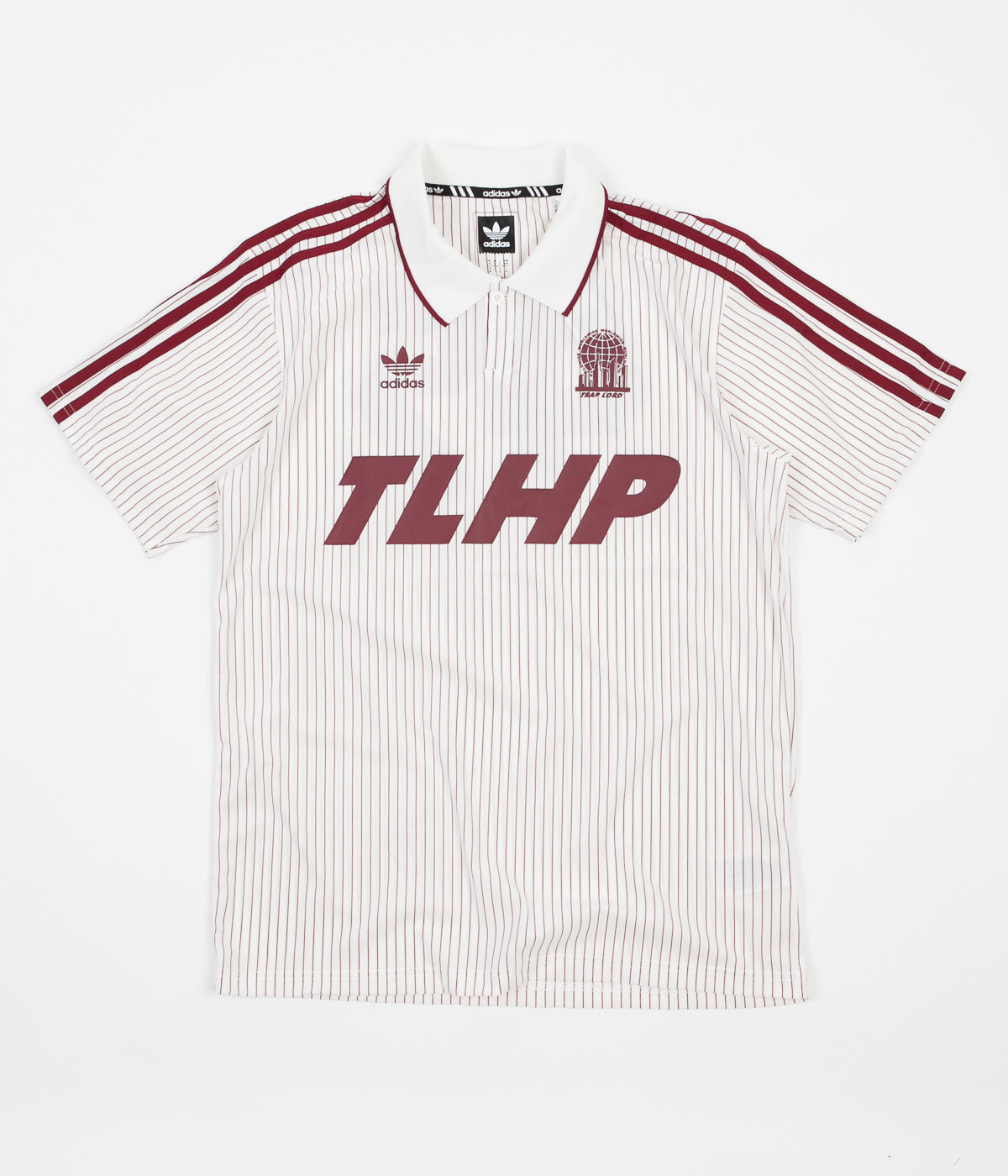 Adidas x Trap Lord Ferg Jersey - Off White / Collegiate Burgundy