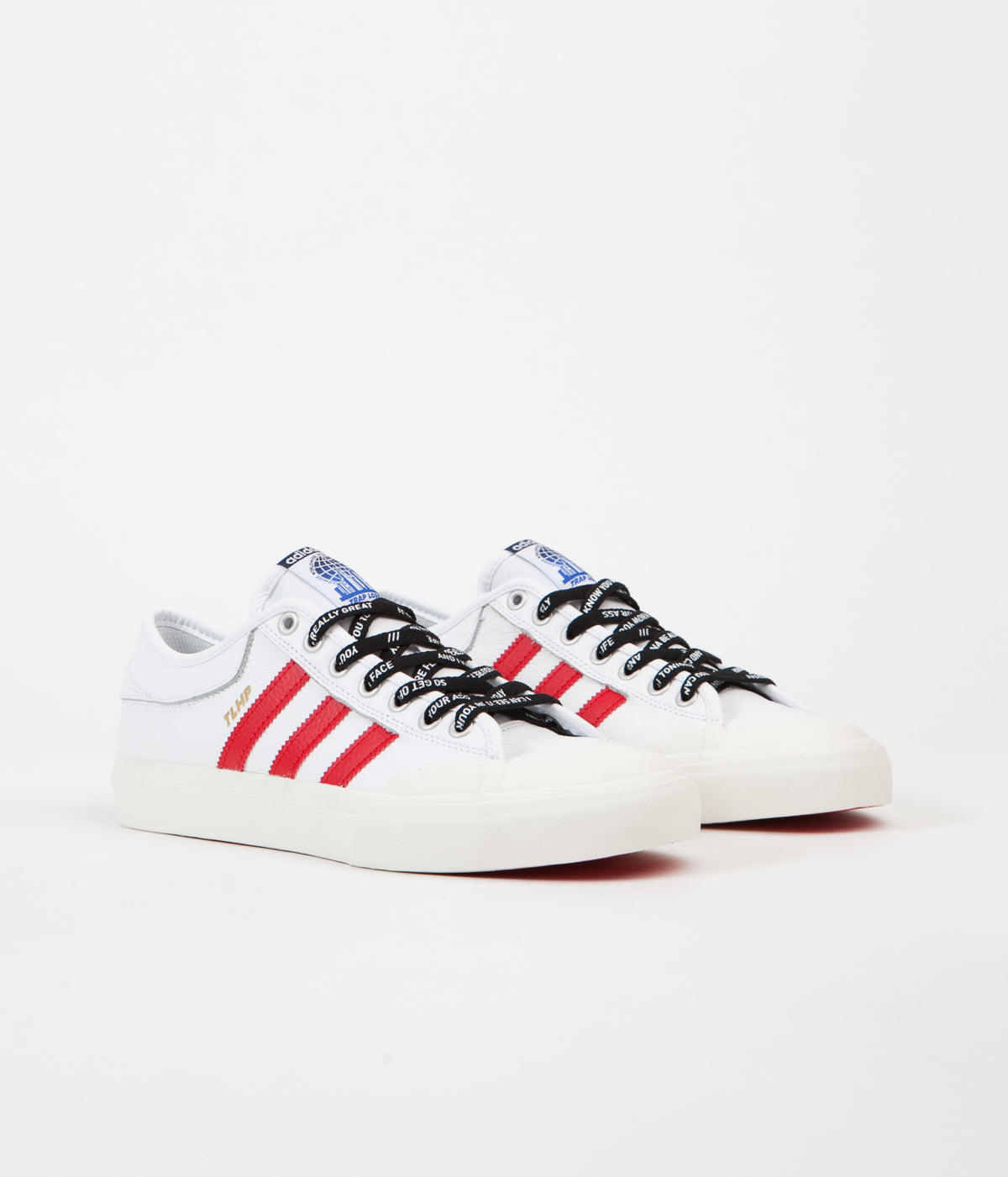 2c7207d1532 ... Adidas x Trap Lord Ferg Matchcourt Shoes - White   Scarlet ...