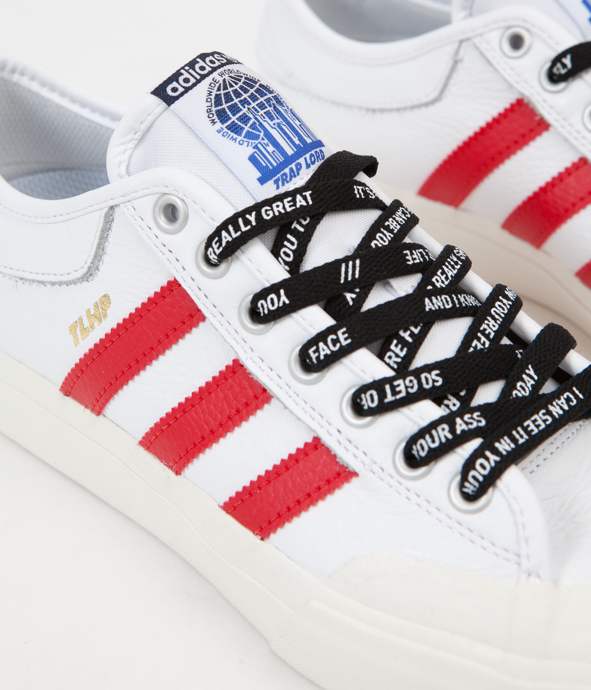 2ccc51155256 Adidas x Trap Lord Ferg Matchcourt Shoes - White Scarlet ... ASAP Ferg x Adidas  Matchcourt Trap Lord Release Date ...
