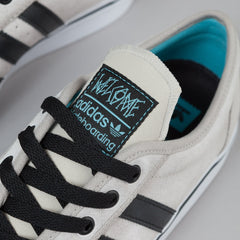 Adidas X Welcome Skateboards Adi-Ease ADV Shoes - White / Black / Aqua