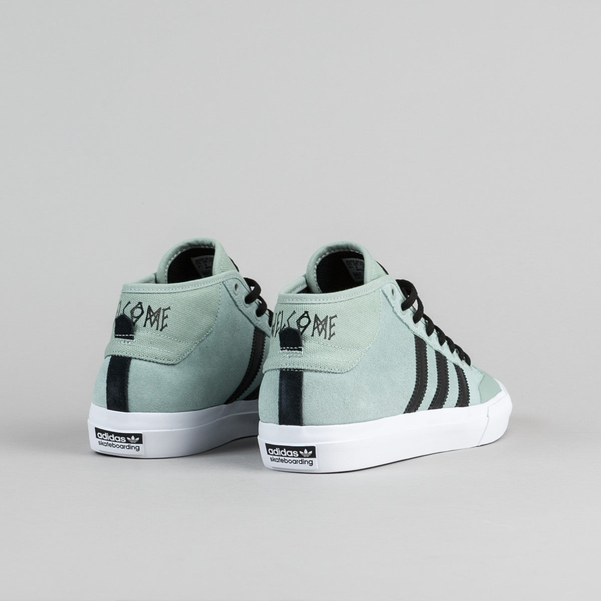 Adidas X Welcome Skateboards Matchcourt Mid Shoes