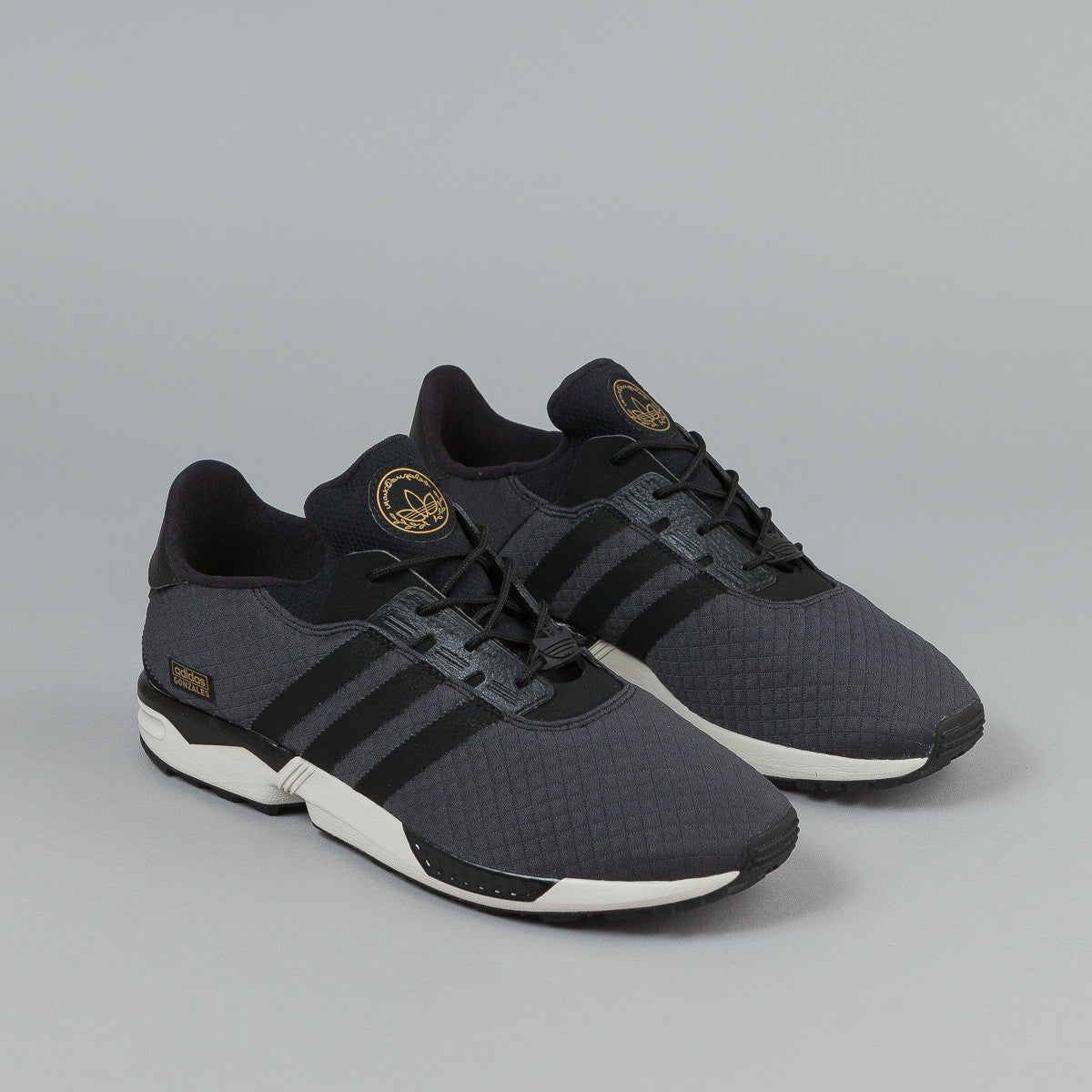 Adidas ZX Gonz Shoes - Carbon / Black / Black