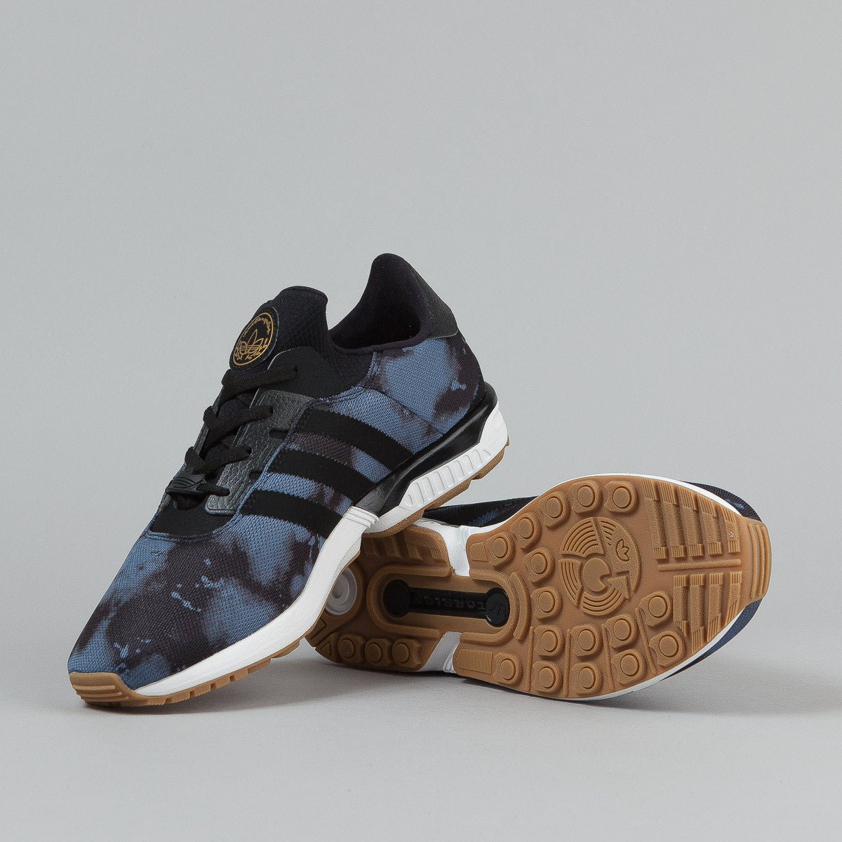 Adidas ZX Gonz Shoes - Fade Ink / Core Black / Gum