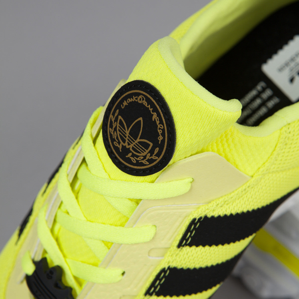 Adidas ZX Gonz Shoes - Solar Yellow / Core Black / FTW White