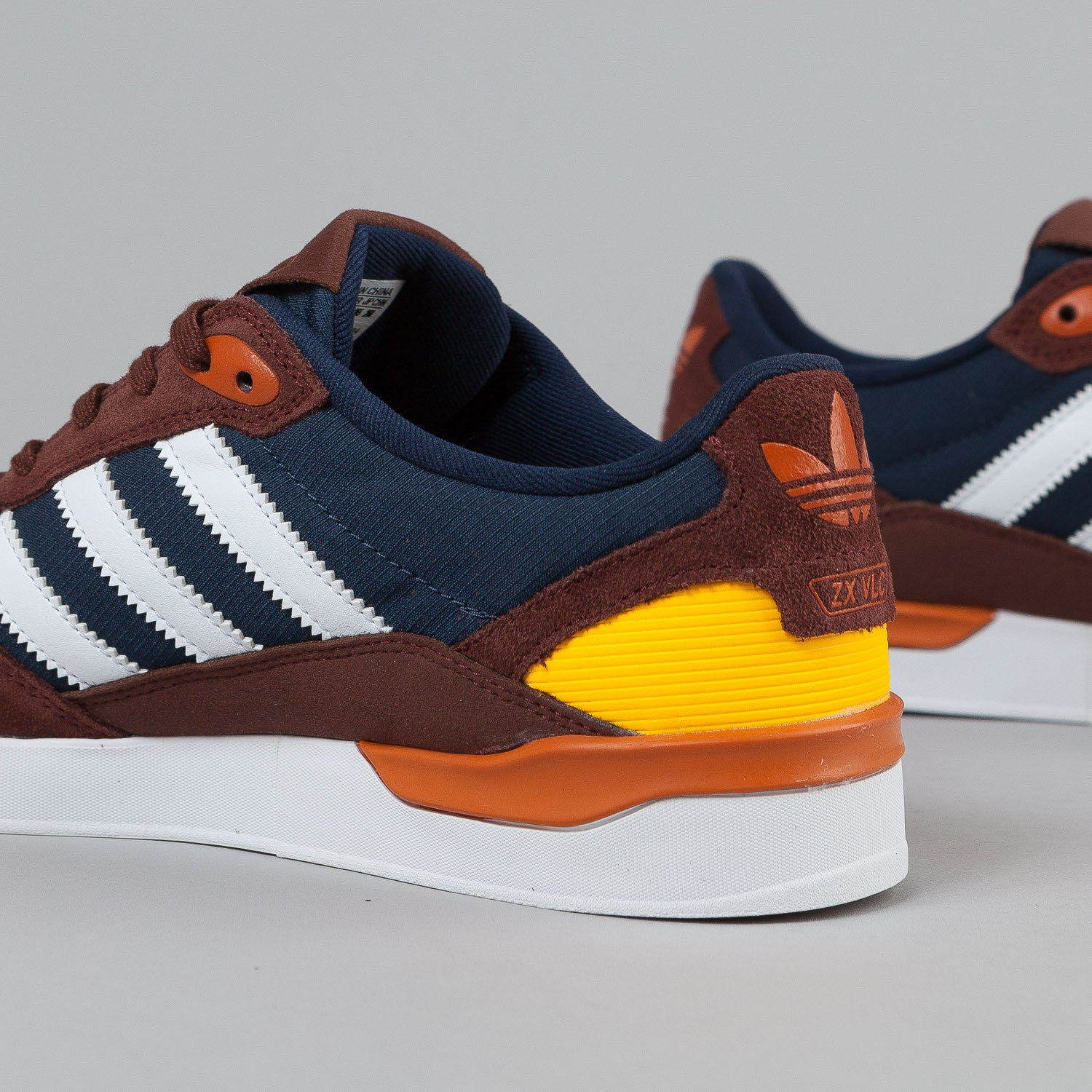 Adidas ZX Vulc Fox Orange / White / Colligate Navy