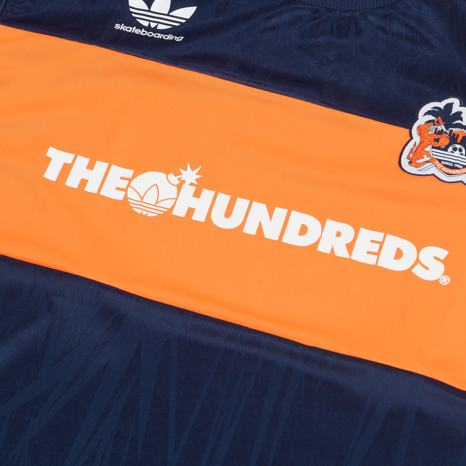 Adidas X The Hundreds Short Sleeve Soccer Jersey - Collegiate Navy