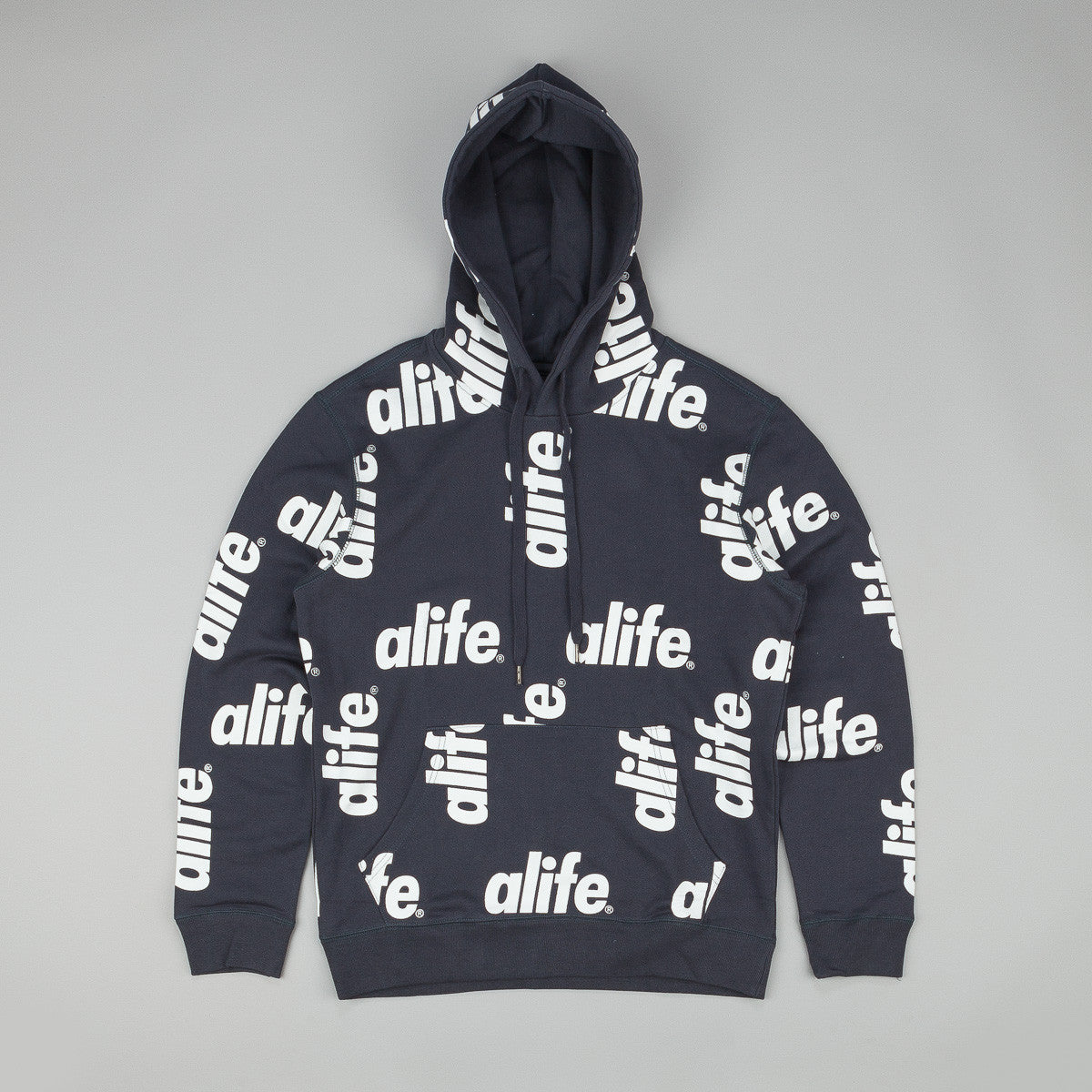 Alife Core Allover Hooded Sweatshirt