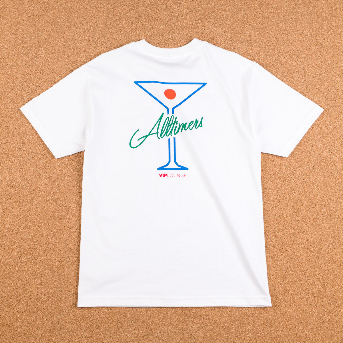 Alltimers Logo T-Shirt - White / Multi