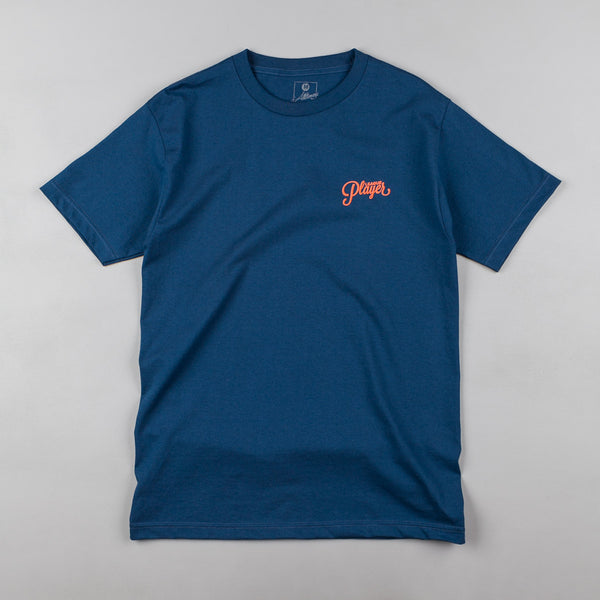 Alltimers Logo T-Shirt - Harbour / Orange