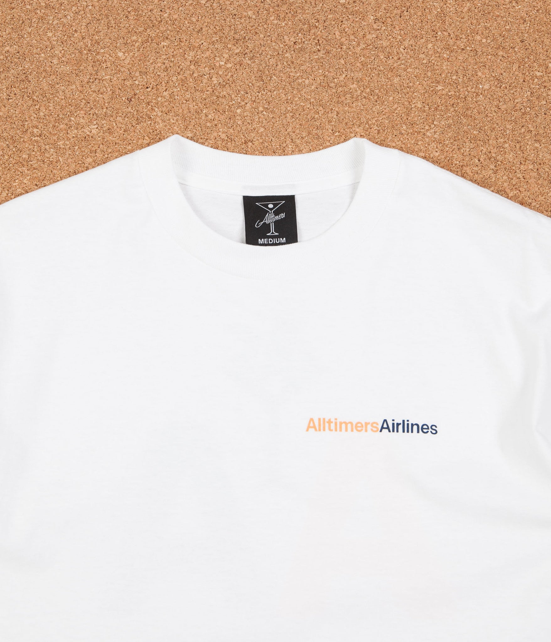 Alltimers Airline T-Shirt - White