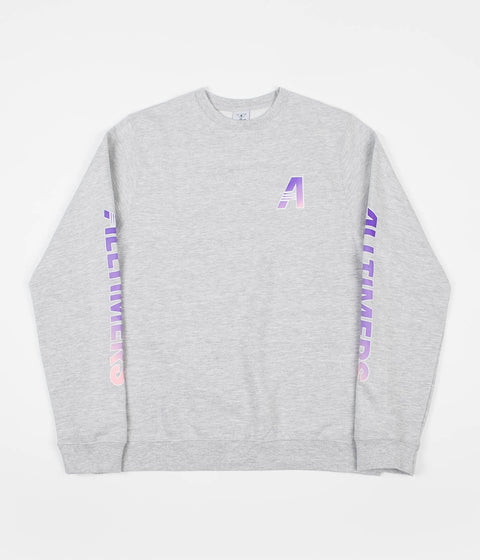Alltimers Artists Crewneck Sweatshirt - Heather Grey