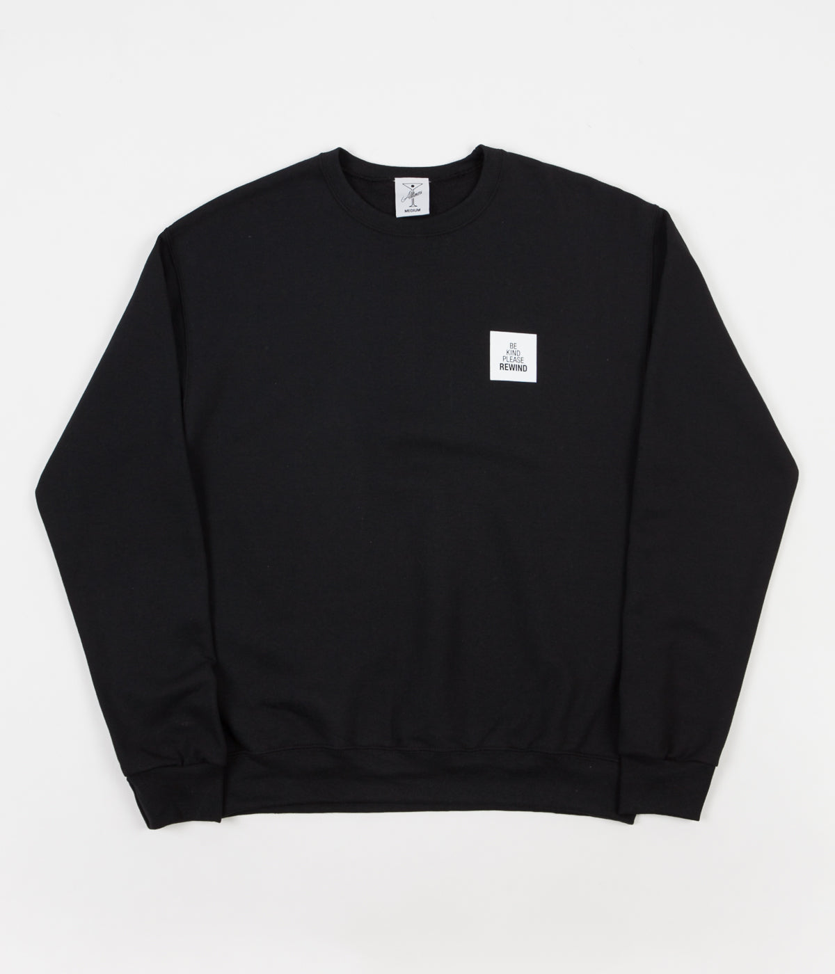 Alltimers Be Kind Crewneck Sweatshirt - Black