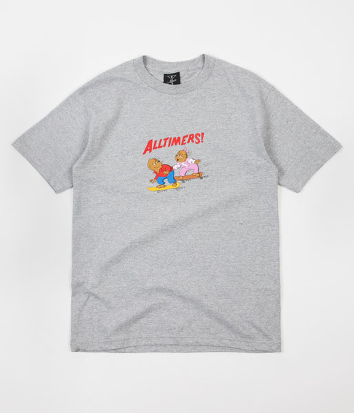 Alltimers Bears T-Shirt - Grey