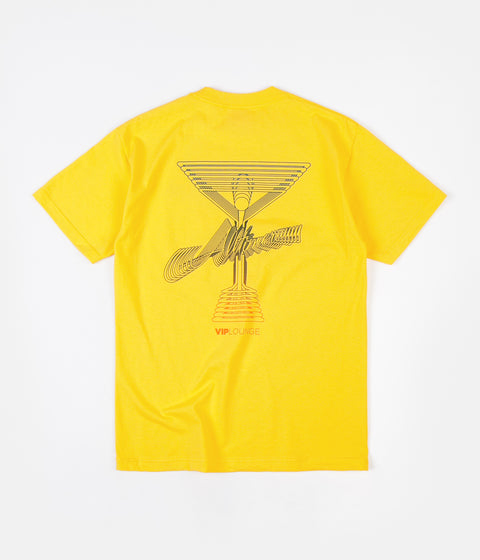 Alltimers Break Down T-Shirt - Yellow