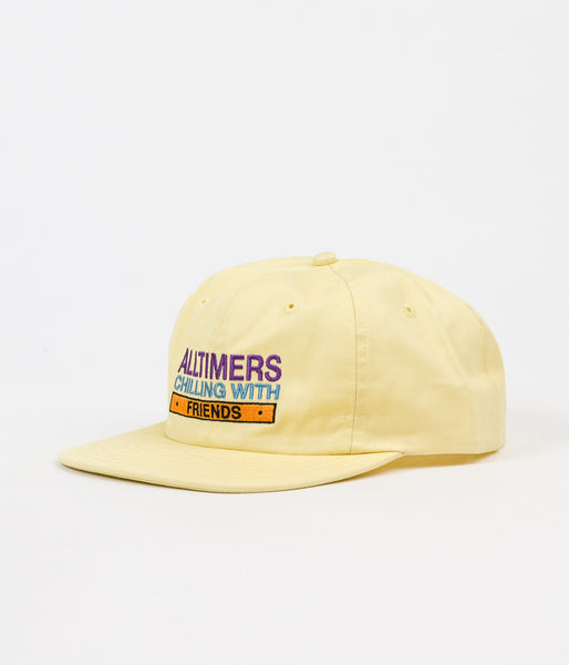 Alltimers Chilling With Friends Cap - Yellow