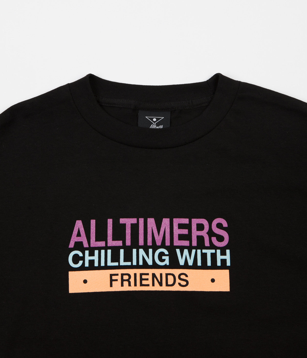 Alltimers Chilling With Friends T-Shirt - Black