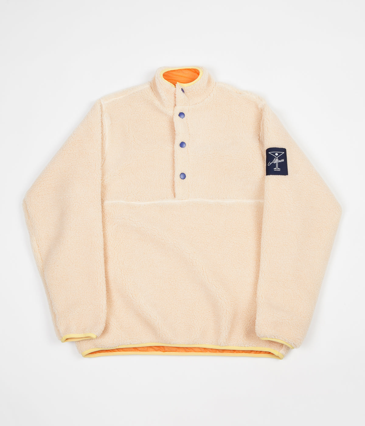 Alltimers Cousins Pullover Fleece - Cream