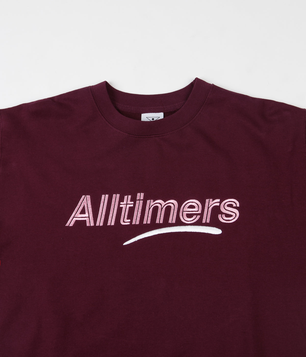 Alltimers Estate Crewneck Sweatshirt - Maroon