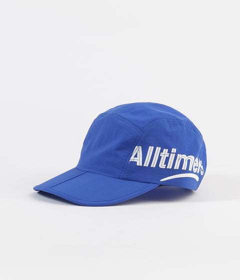 3315743440b Alltimers Estate Side Logo Foldable Cap - Royal Blue