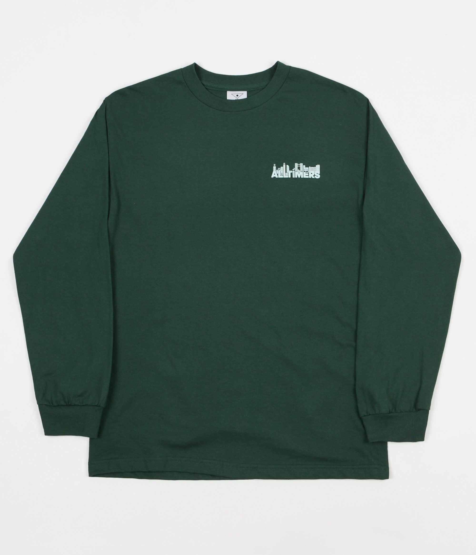 Alltimers Late Long Sleeve T-Shirt - Forest Green