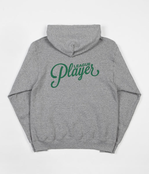 Alltimers League Player Hooded Sweatshirt - Grey