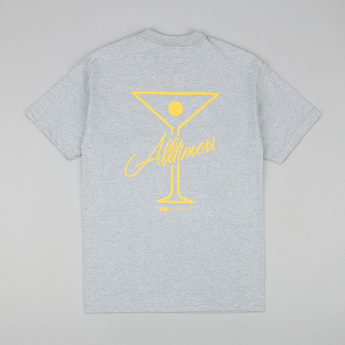 Alltimers League Player T-Shirt - Grey Heather