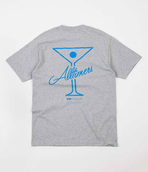 Alltimers Logo T-Shirt - Grey / Blue
