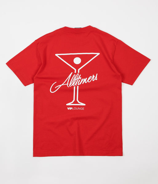 Alltimers Logo T-Shirt - Red / White