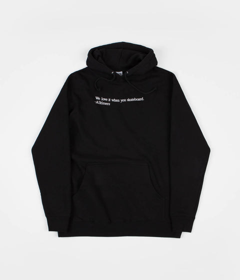 Alltimers Love It Hoodie - Black