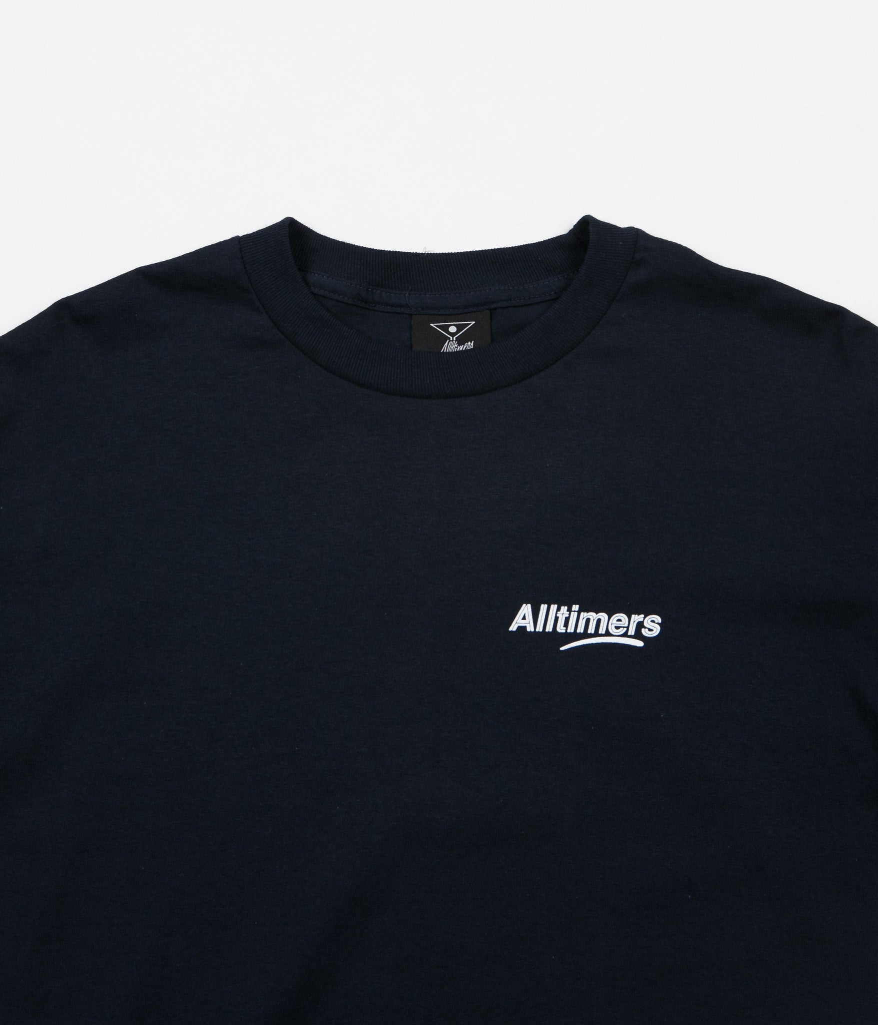 Alltimers Peachy Long Sleeve T-Shirt - Blue