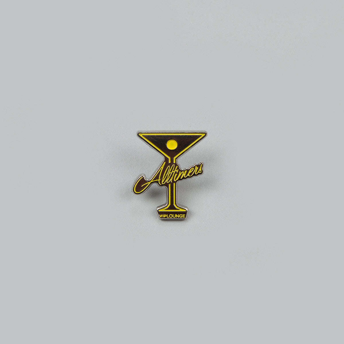 Alltimers Pin Badge Pack - Yellow / Purple