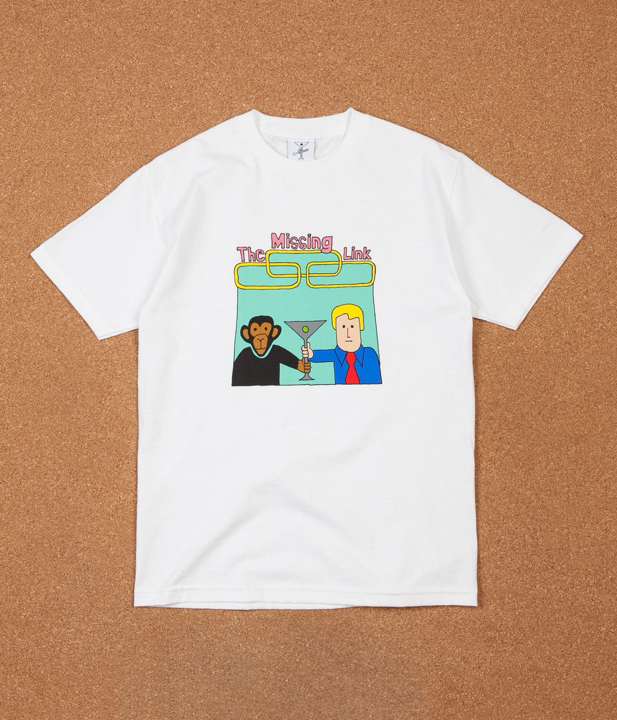 Alltimers Link Up T-Shirt - White