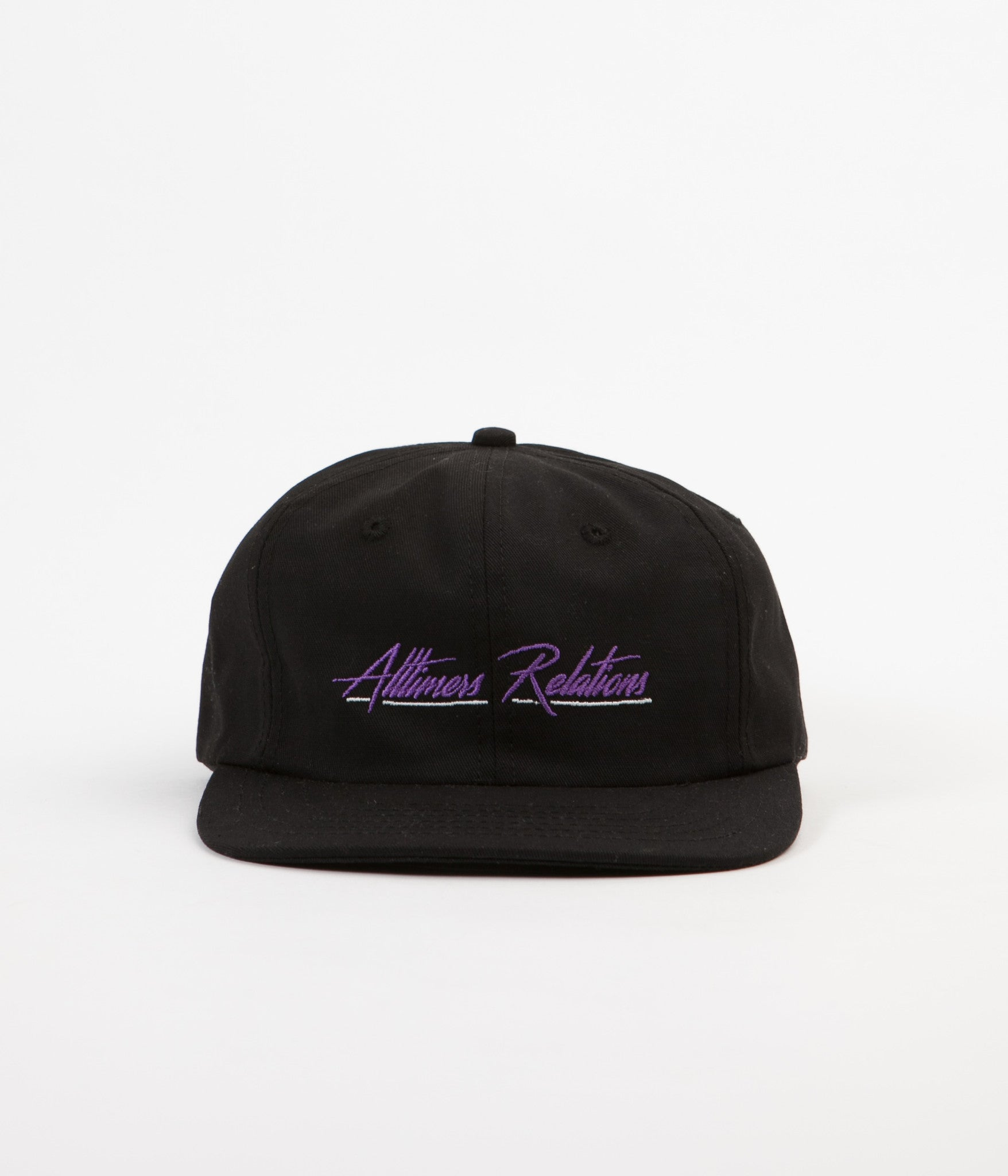 Alltimers Relations Cap - Black