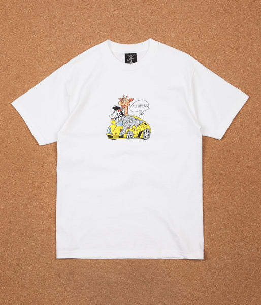 Alltimers Rich Zoo T-Shirt - White