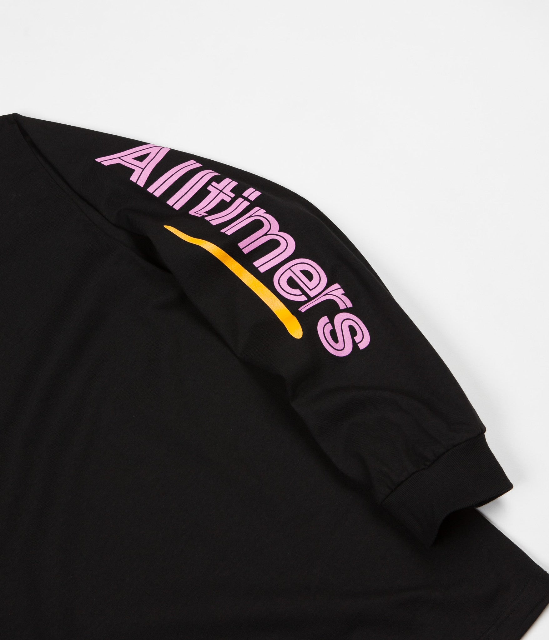 Alltimers Sears Long Sleeve T-Shirt - Black