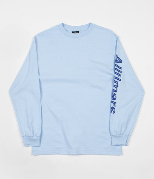 Alltimers Sears Long Sleeve T-Shirt - Blue