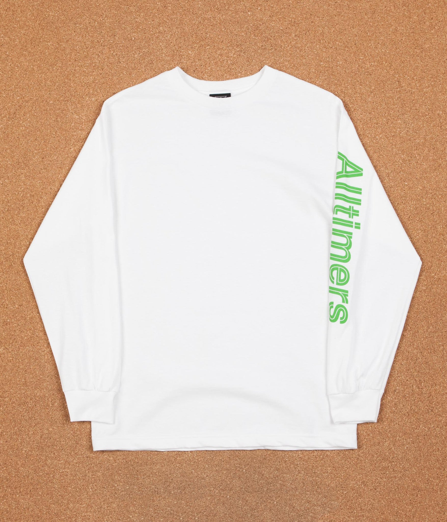 Alltimers Sears Long Sleeve T-Shirt - White