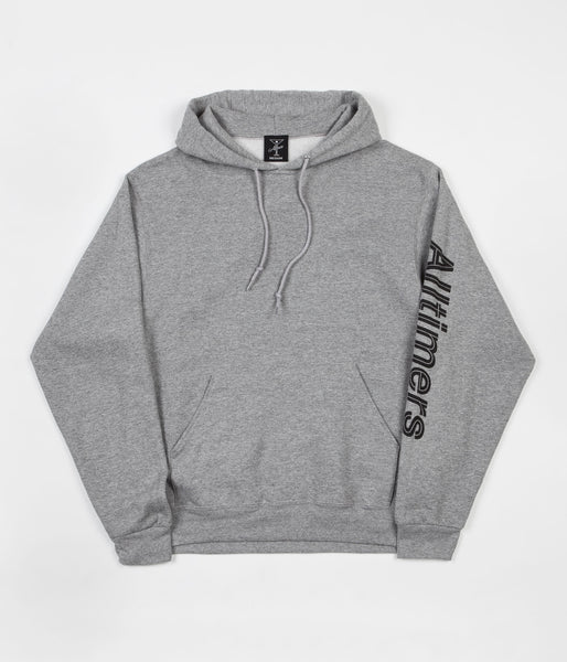 Alltimers Sears Sleeve Hooded Sweatshirt - Grey