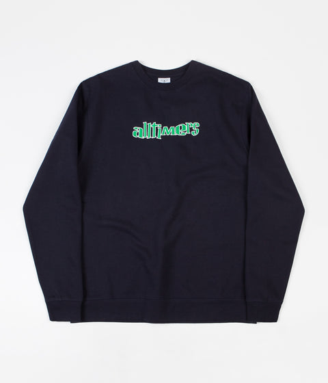Alltimers Ska Sucks Crewneck Sweatshirt - Navy