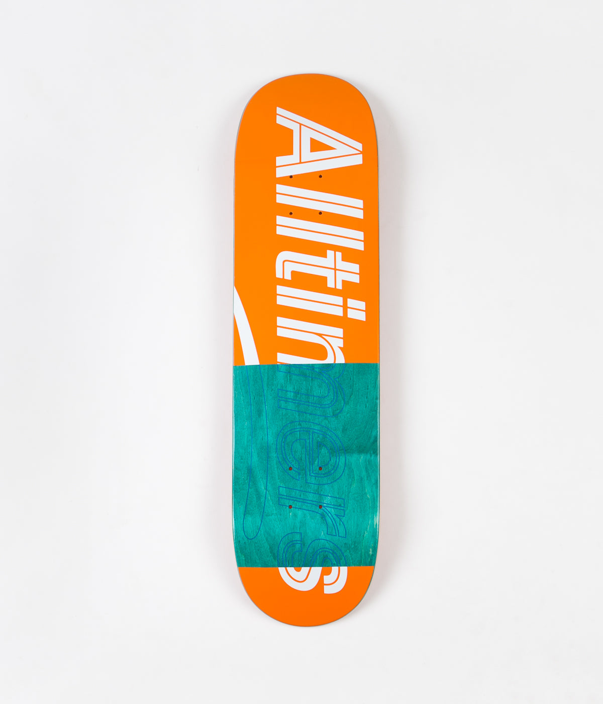 Alltimers Trace Logo Deck - Orange - 8.1""