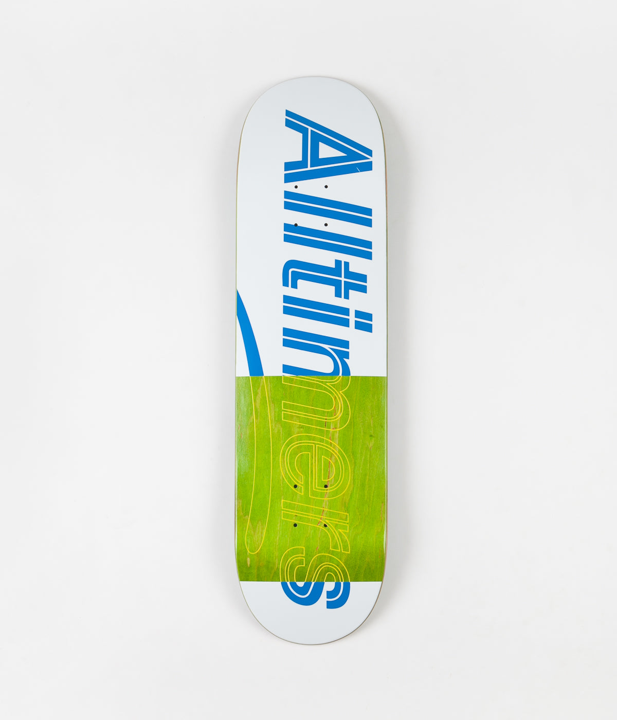 Alltimers Trace Logo Deck - White - 8.25""