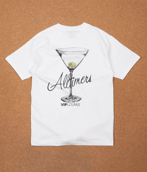 Alltimers Watercolor Logo T-Shirt - White